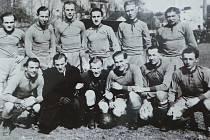 Fotbalisté AC Velen v roce 1940.