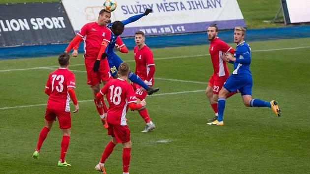 Blanenští fotbalisté budou chtít v Chrudimi navázat na výkon z Jihlavy, kde vyhráli 4:1.
