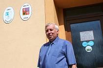 Starosta Vavřince Miloslav Novotný.