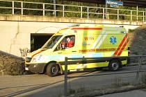 Ve čtvrtek ráno zemřel před adamovským A.centrem motorkář. Nešlo však o dopravní nehodu. Muži se udělalo špatně.