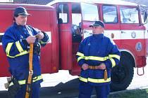 Ráječtí dobrovolní hasiči.