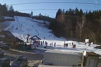 Opravili porouchaný vlek. V Hodoníně se opět lyžuje.