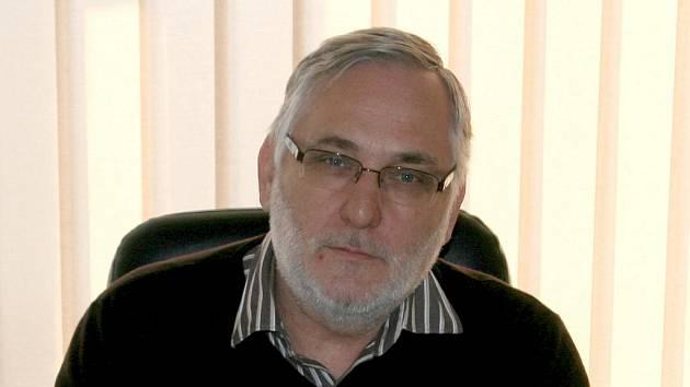 Křtinský starosta František Novotný.