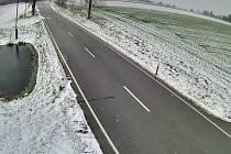 Blanensko zasypal ve středu sníh. Na nejvýše položených místech v regionu se udržel lehký poprašek.