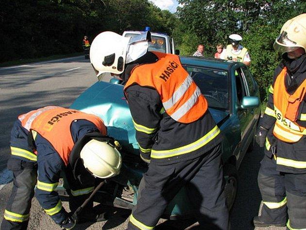 Nehoda auta. Ilustrační foto