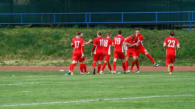 Blanenští fotbalisté postoupili do prvního kola českého poháru.