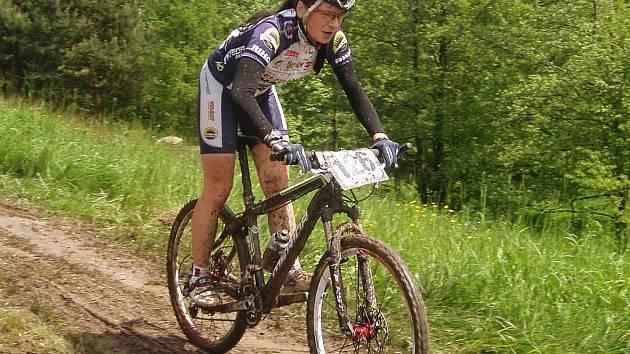 Nikola Hlubinková na Velké ceně Okrouhlé vyhrála mezi juniorkami.