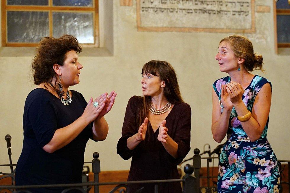Z vystoupení Korjenu v boskovické synagoze.
