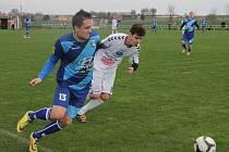 Fotbalisté Vilémovic porazili vedoucí Vyškov B 2:1.
