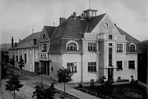 Bio invalidů v Blansku v první polovině 20. století.