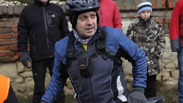 Hlavní organizátor Ráječkovské desítky Zdeněk Přibyl.