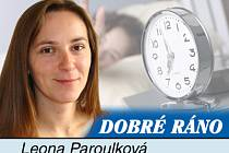Redaktorka Blanenského Deníku Leona Paroulková.