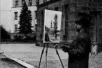 Malíř Pavel Bačovský.