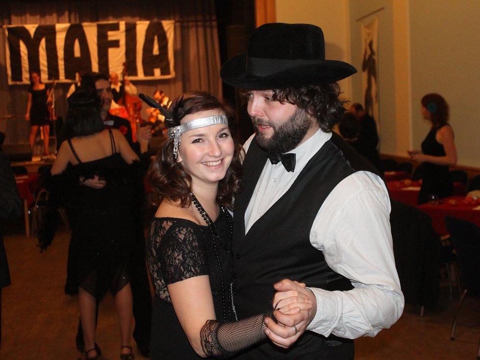 Ples pořádaný skautským střediskem Boskovice. Ilustrační foto.