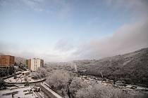 Dobré ráno Adamove. Krásné zasněžené pohledy ze čtvrtečního rána poslal Deníku pan Jiří Baisa. FOTO: JIŘÍ BAISA