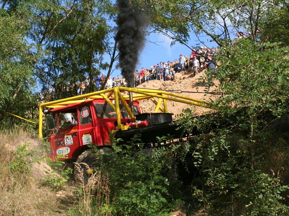 Mistrovství České republiky v truck trialu.
