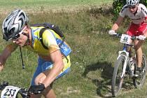 Bike maraton Blanenský goelm jelo 268 cyklistů. Hlavní jedenašedesátikilometrový závod vyhrál Radim Kovář zbrněnské Meridy.