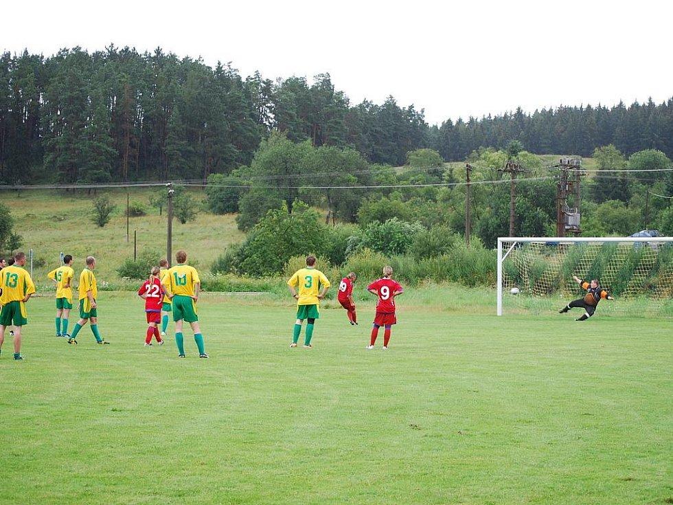 Přátelské utkání mezi 1. FC Brno - fotbalové mužstvo žen a fotbalovým mužstvem TJ Ostrov