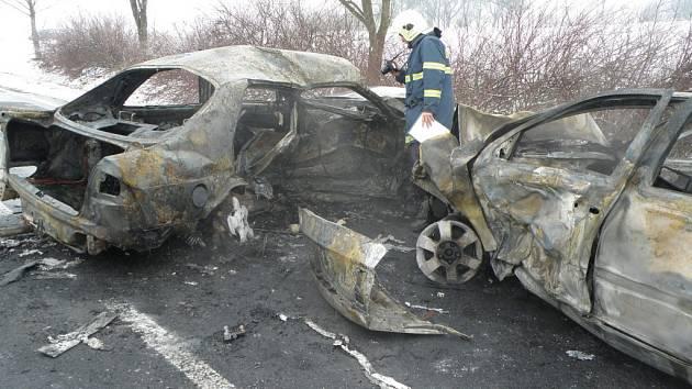 Tragická dopravní nehoda u Krhova