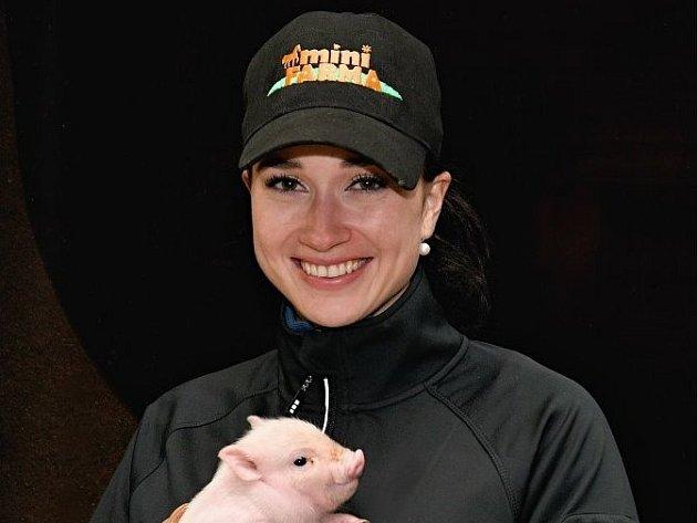 Cvičitelka koní a psycholožka Katarína Holasová.