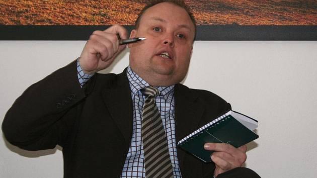 Bývalý starosta Břeclavi Dymo Piškula.