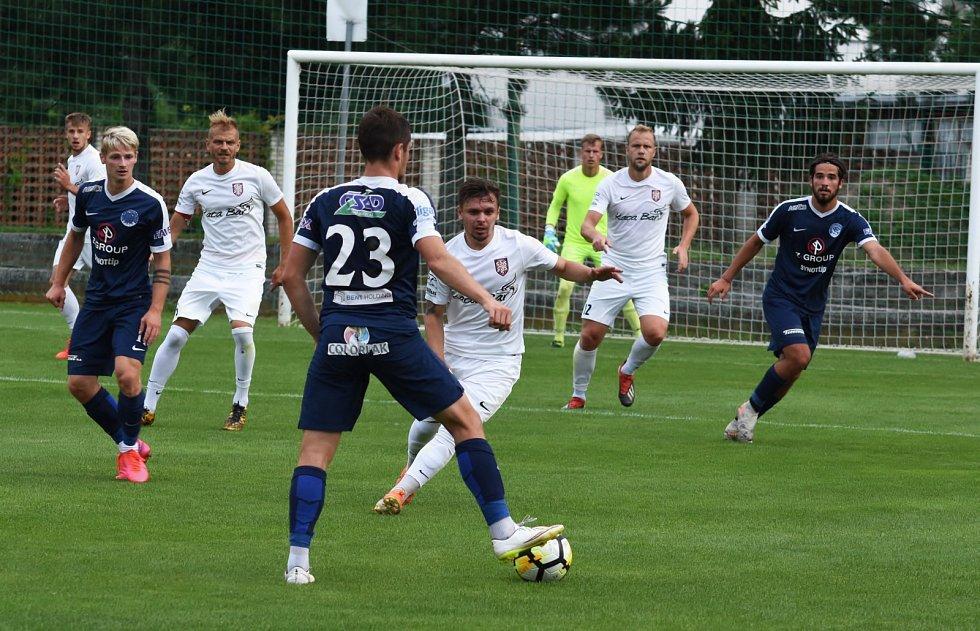Fotbalisté Lanžhota remizovali s juniorkou Slovácka 1:1.