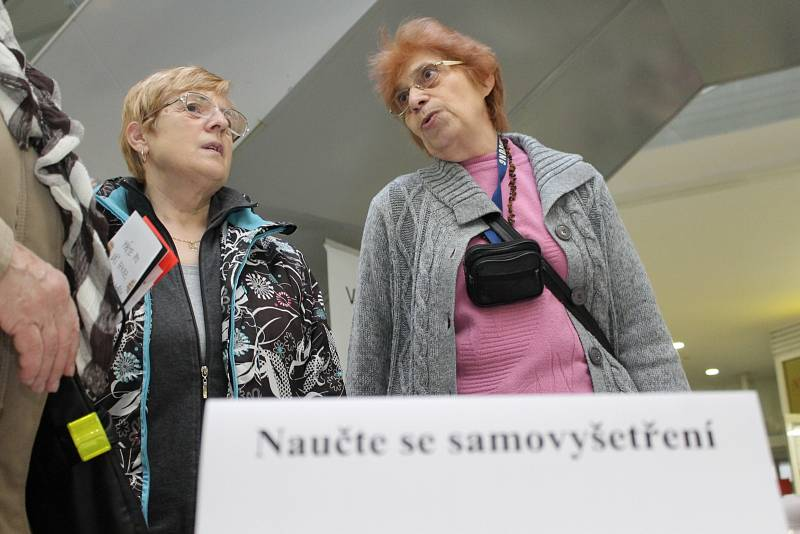 V Břeclavi se uskutečnila akce podporující předcházení závažné nemoci. Vystoupili odborníci, lidé posílali vzkazy.
