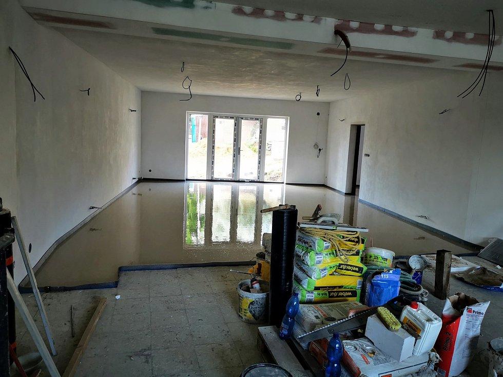 Kašnická radnice prošla téměř sedmimilionovou rekonstrukcí. Foto: se svolením obce Kašnice