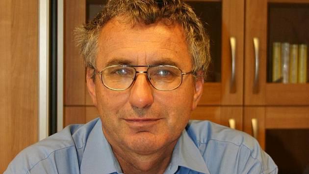 Ředitel břeclavské obchodní akademie Leo Čuda.