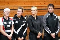 Stolní tenistky MSK Břeclav. Ilustrační foto