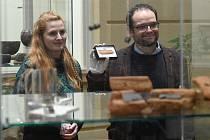 Runová kost, unikátní nález archeologů MU v nalezišti Slovanů v lokalitě u Břeclavi.