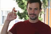 Petr Sůkal z Břeclavi je nadšený pěstitel chilli papriček.