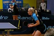Stolním tenistkám MSK se o víkendu dařilo.