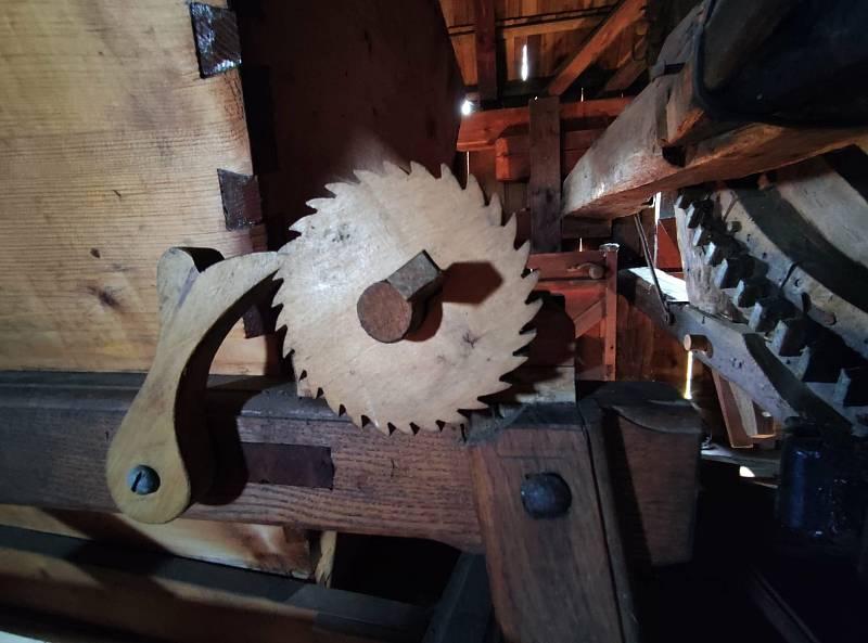 Z výletu do Klobouk u Brna a Boleradic. Ve mlýně můžete narazit na čerta i draka. Nemusíte se bát, jsou to součásti zařízení.