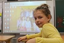 Školáci v Bořeticích mají k dispozici multimediální pomůcky.