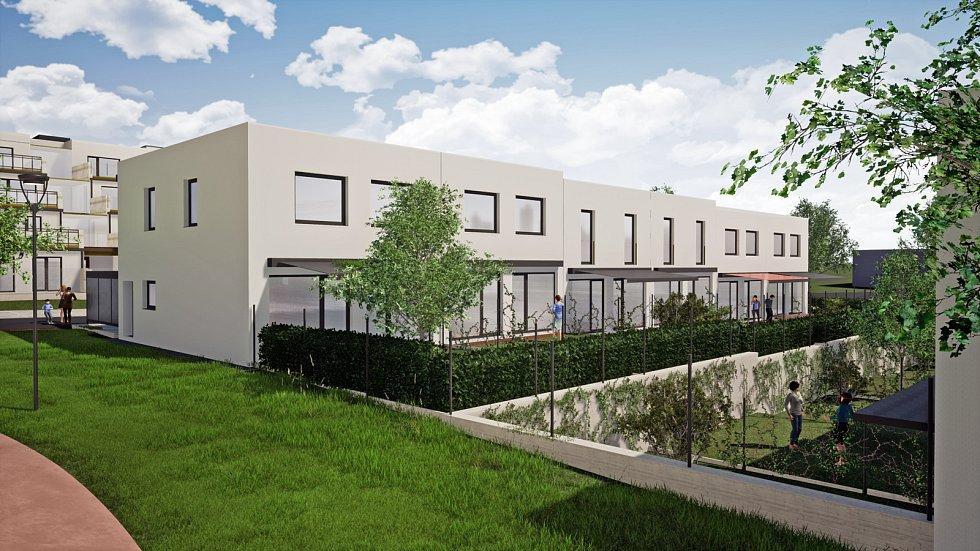Třetí nejlidnatější kraj v republice je ten Jihomoravský. Výstavba v Letním poli ve Vyškově. Zájemci se nastěhují do 134 bytů.