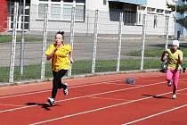 Projekt Spolu na startu přilákal malé i velké atlety. V Břeclavi jich bylo na startu přes dvě stovky.