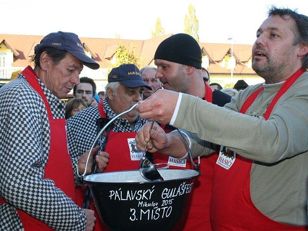 Pálavský gulášfest. Ilustrační foto.
