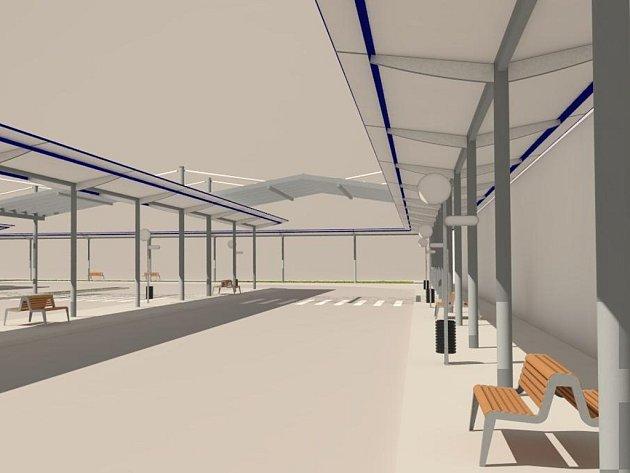 Takto by měl vypadat terminál za stovky milionů korun.