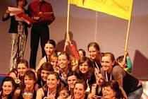 Dívky z velkobílovického tanečního souboru Balanc obhájily v brněnském Boby centru titul mistryň republiky.