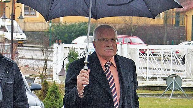 Václav Klaus na Břeclavsku