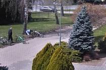 Před lanžhotskou základní školou kradli kola. Policie zloděje vypátrala.