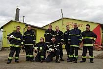 Sbor dobrovolných hasičů z Velkých Bílovic.