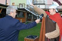U hotelu Kraví hora v Bořeticích se ve čtvrtek 11. listopadu uskutečnila svatomartinská slavnost s otevřením prvních Svatomartinských vín.