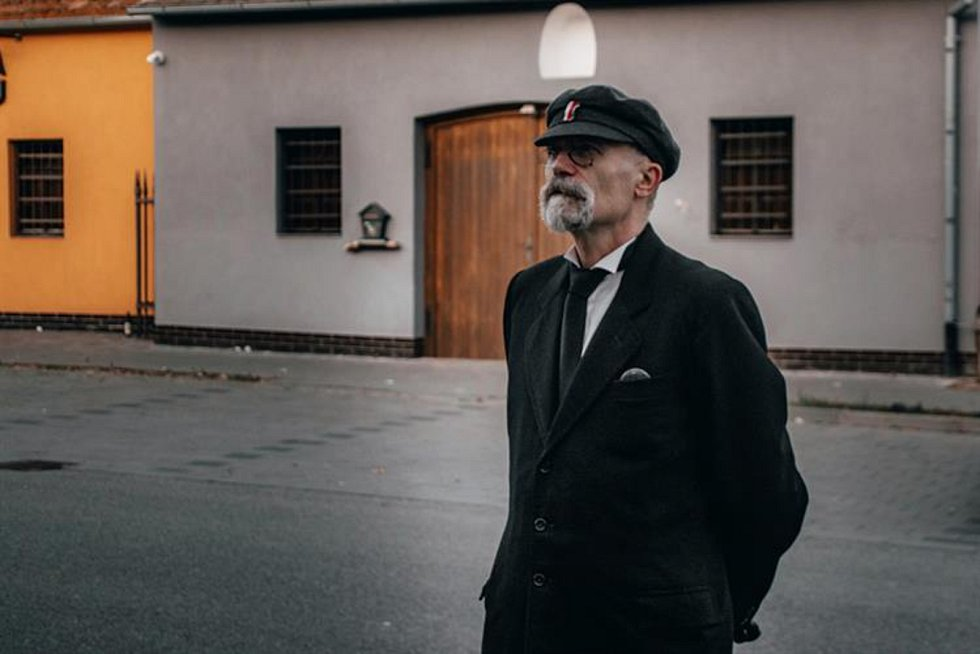 Do města zavítal dvojník prezidenta Tomáše Garrigua Masaryka.