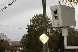 Jeden z radarů v Hustopečích.