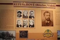 Synagoga v Břeclavi slouží jako stálá expozice muzea. Město bylo v historii spjato s rodem Kuffnerů.