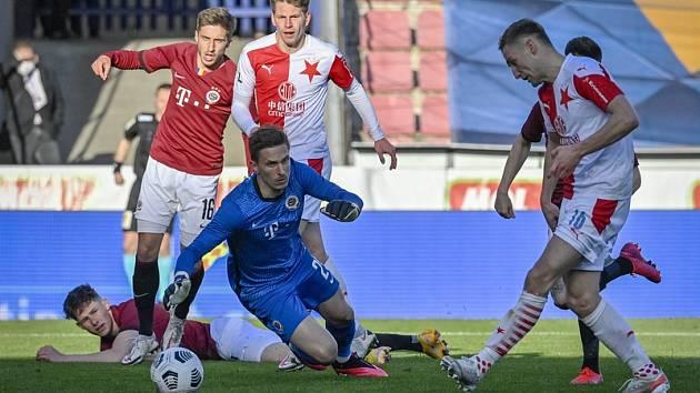Milan Heča si na jaře zachytal v semifinále domácího poháru proti Slavii.
