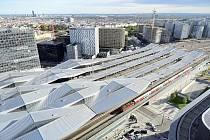 Vídeňské hlavní nádraží slaví pět let.