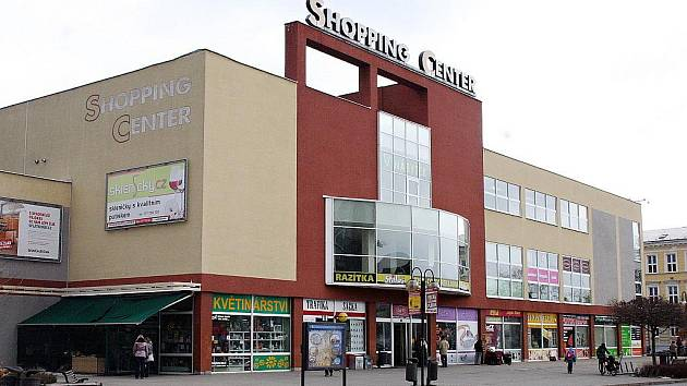 Shopping center Břeclav - ilustrační foto.